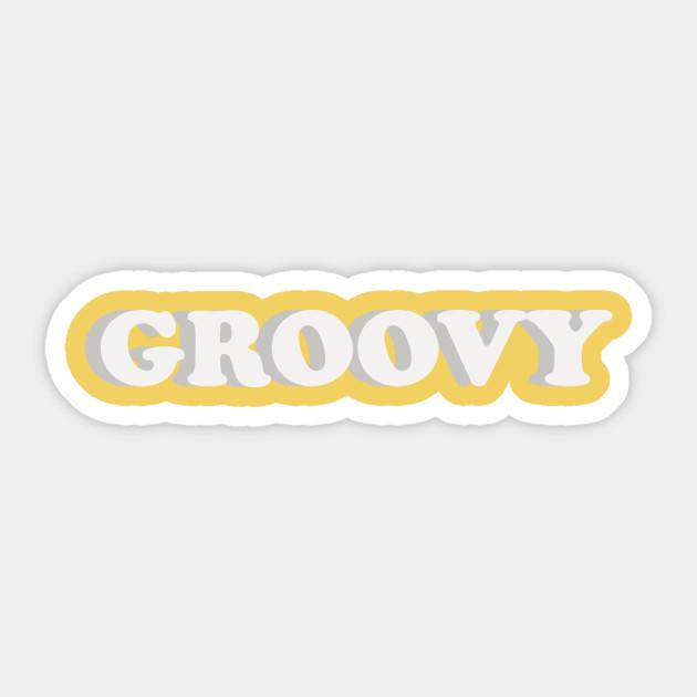 Groovy Tumblr Sticker Teepublic