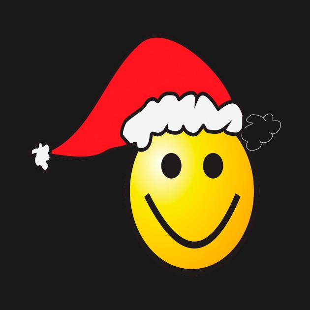Smile Funny Christmas T-Shirt or Women - Men -Kids