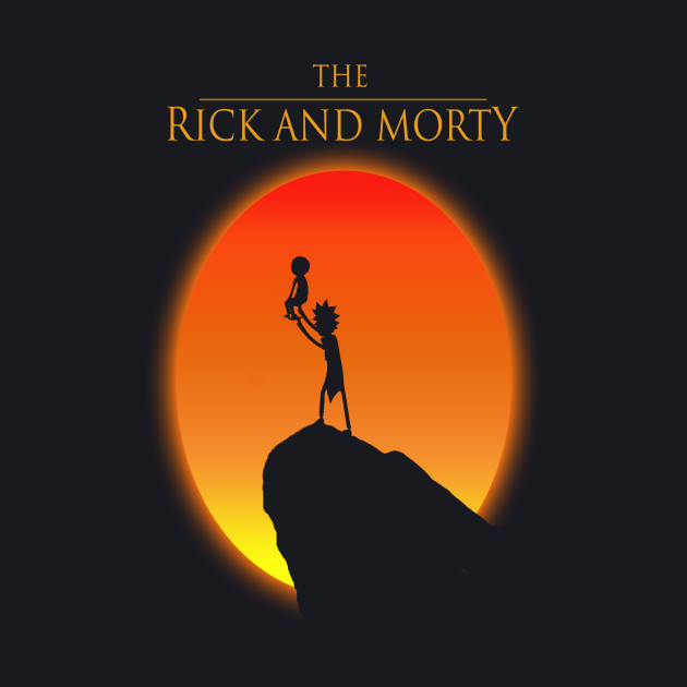 Rick and Morty (Lion king version)