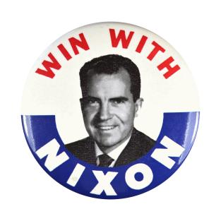Richard M Nixon Presidential Campaign Button Design t-shirts
