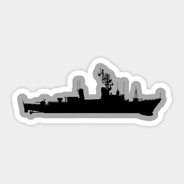 Barry (DD-933) - Ship - Silhouette