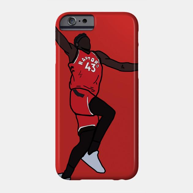 b66ad29ad57a Pascal Siakam Dunk - Toronto Raptors - Nba - Phone Case