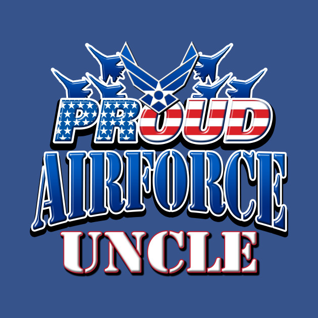 Proud Air Force Uncle USA Military Patriotic Gift