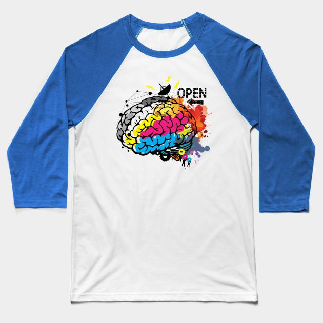 8437296d7 Creative Brain - Brain - Baseball T-Shirt