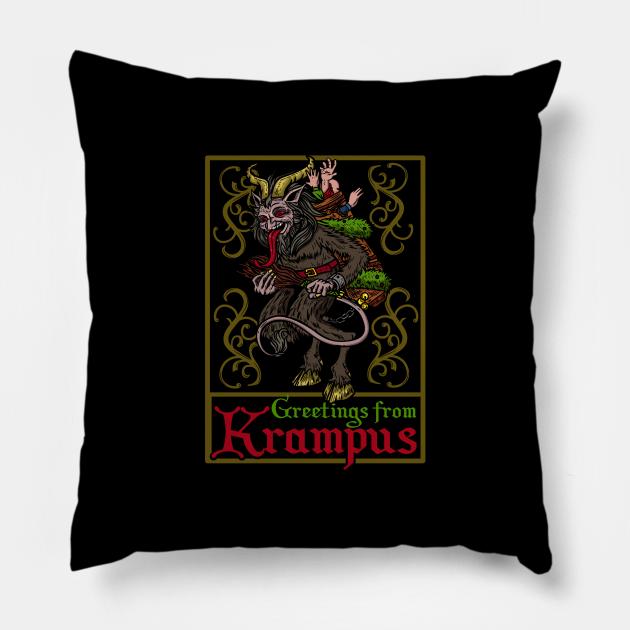 Greetings From Krampus - Christmas Devil Gift