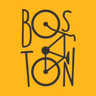 BOSTON BIKE t-shirts