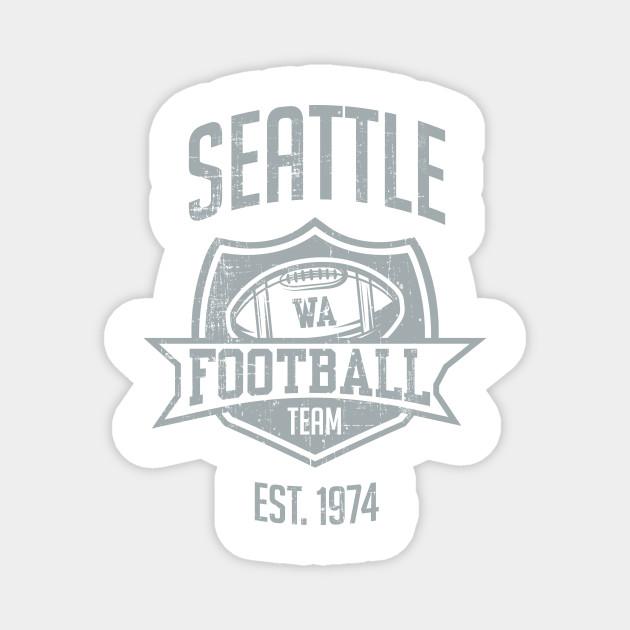 Seattle Football Team Inspired Seattle Seahawks Washington Football Team