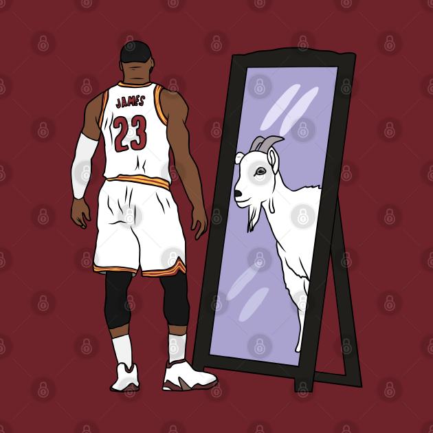 LeBron James Mirror GOAT (Cavs)