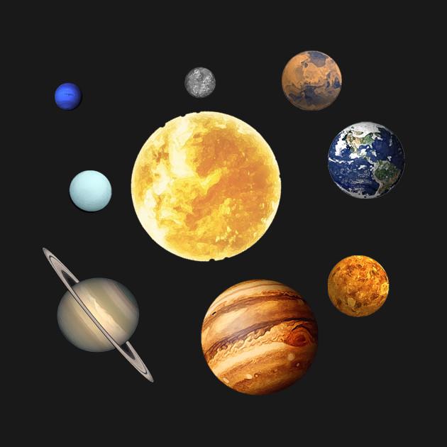 Planets Orbit Around the Sun Solar System