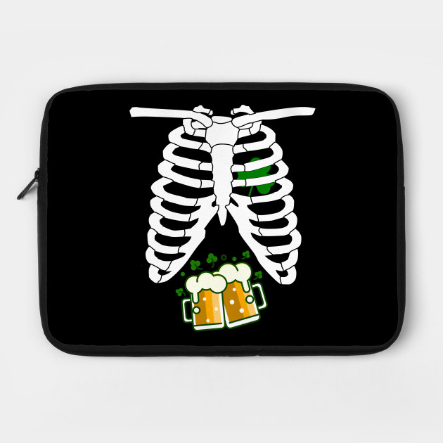 Beer Ribcage Irish Drinking St Patricks Day