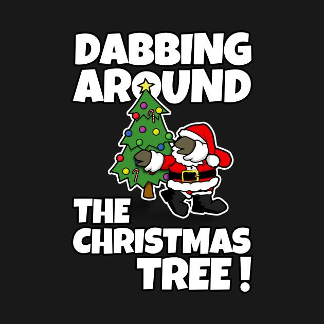 Dabbing Around the Christmas Tree!