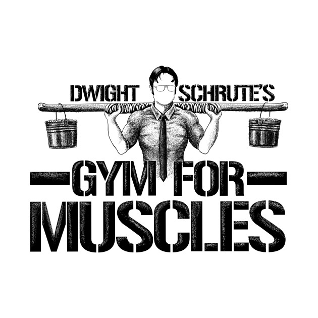 97ffc0d9 Dwight Schrute's Gym for Muscles - The Office - Kids T-Shirt | TeePublic