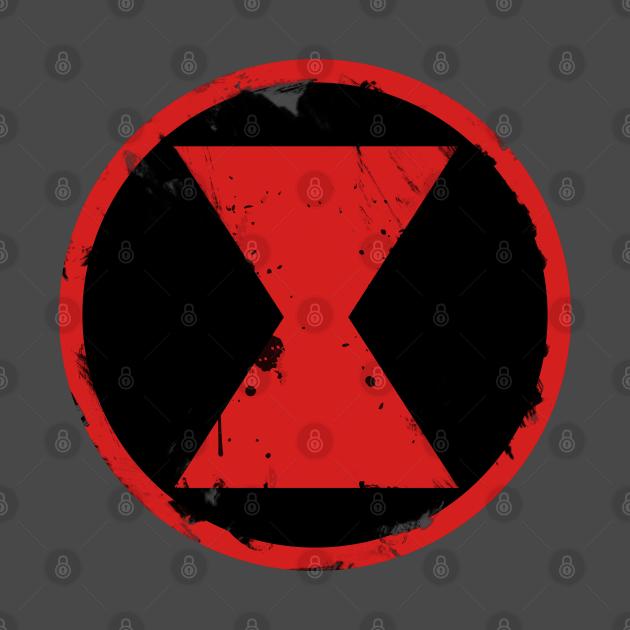 Widow hourglass emblem - alternate