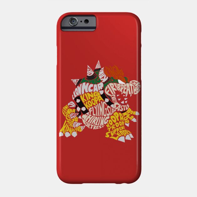 Bowser iphone case