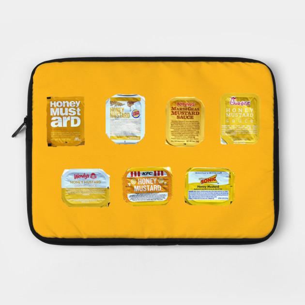 Honey Mustard Food Laptop Case Teepublic