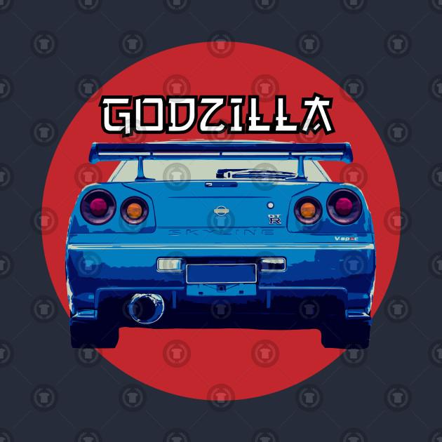 Nissan Skyline GTR R 34 - Godzilla
