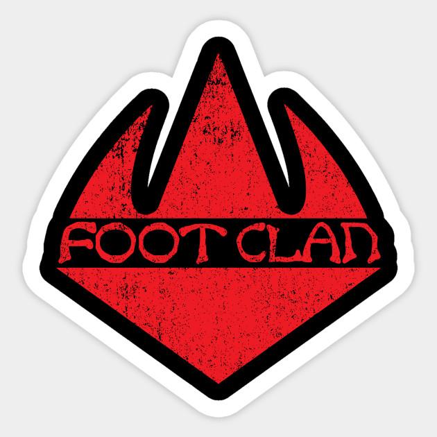 Foot Clan Ninja Turtles Sticker Teepublic