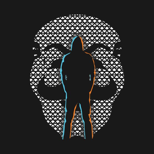 Mr.Robot Silhouette
