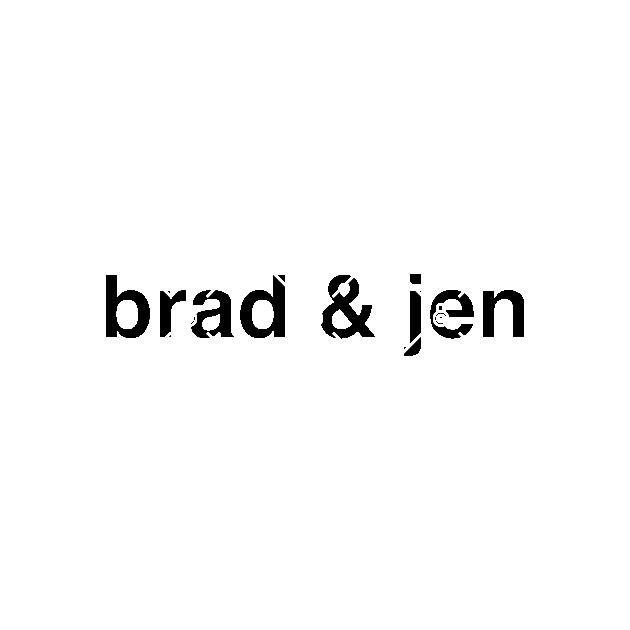 BRAD & JEN 2