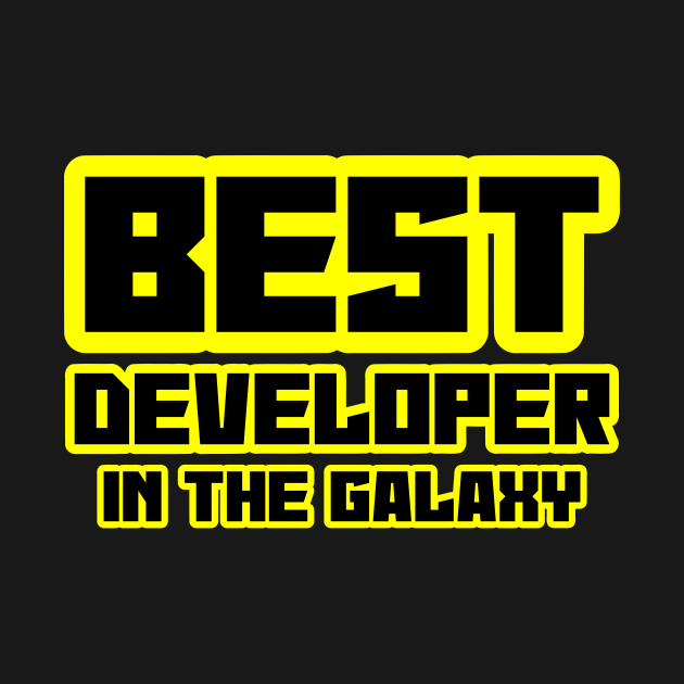 Best developer in the galaxy