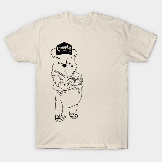 Gangster Pooh Bear Pooh T Shirt Teepublic