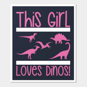 baby girl dinosaur posters and art prints teepublic