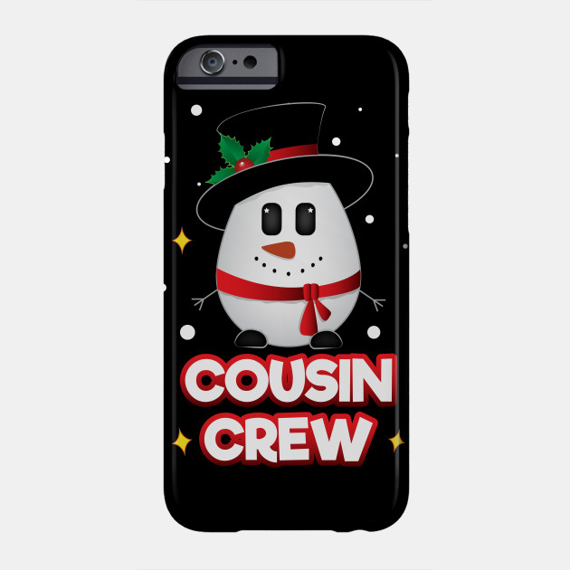 Christmas Gifts Snowman Cousin Crew
