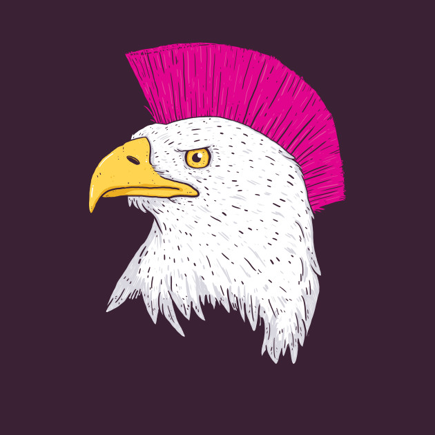 Rad Bald Eagle