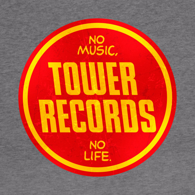Vintage Tower Records