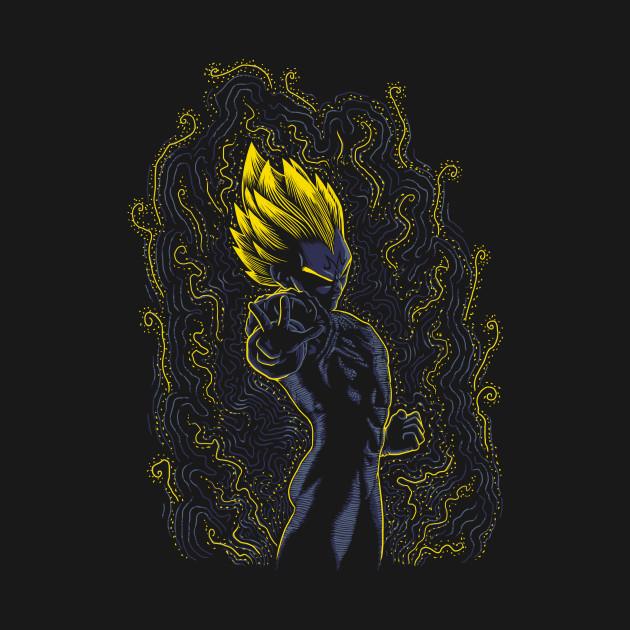 Majin Post Impressionist T-Shirt thumbnail