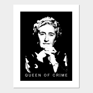 Agatha Christie quote Literary quote Art print gift poster