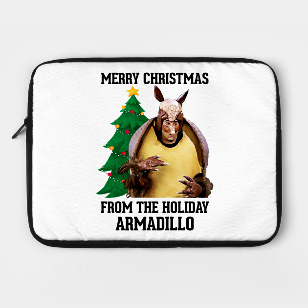 Christmas Armadillo Friends.Friends Merry Christmas From The Holiday Armadillo By Whysoteerious