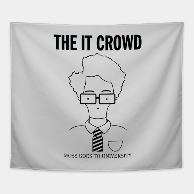 The IT Crowd: Moss Goes To University (light)