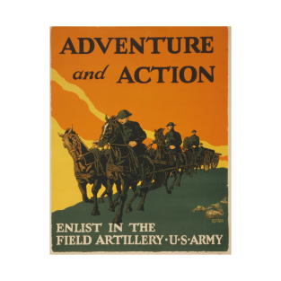 World War I Replica Poster - Adventure And Action!