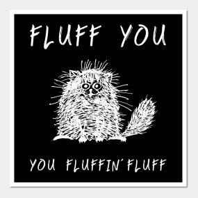 Carteles y Impresión Artística Fluff | TeePublic MX