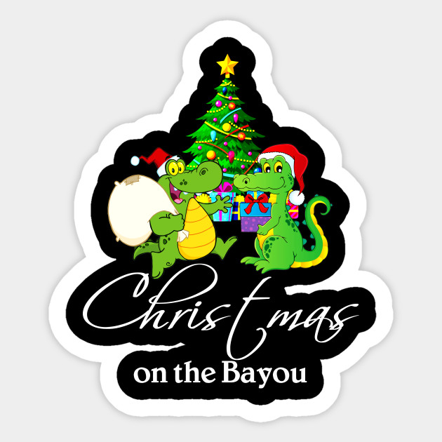 Cajun Christmas.Christmas On The Bayou Cajun Christmas Shirt For Bayou State