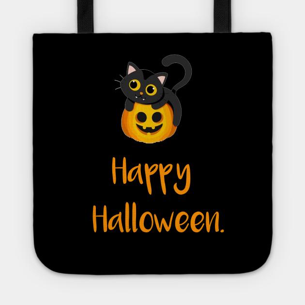 happy halloween cat gift