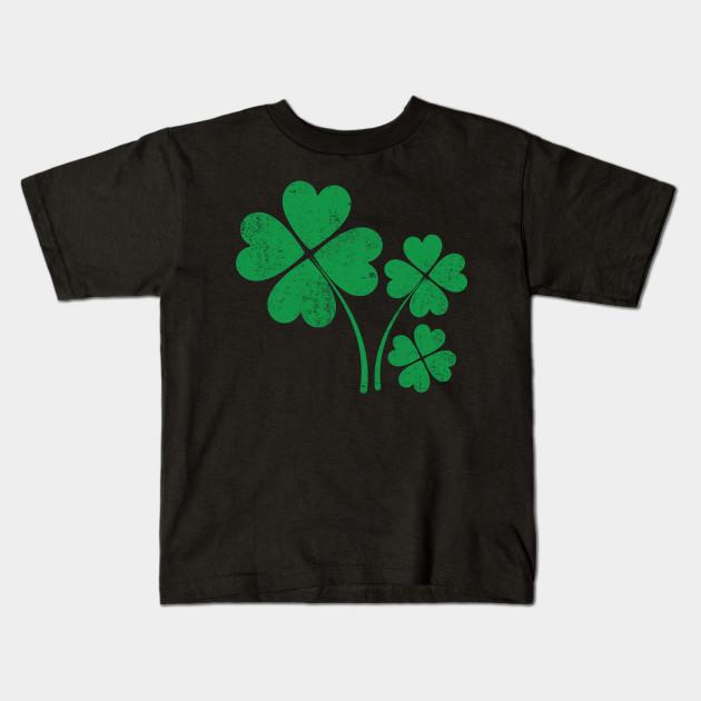 Patrick/'s Day Mens Hoodie Sweatshirt Three Leaf Clover Distressed Irish St