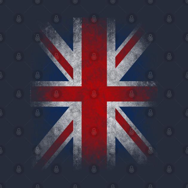 UK Flag - United Kingdom Grunge Flag