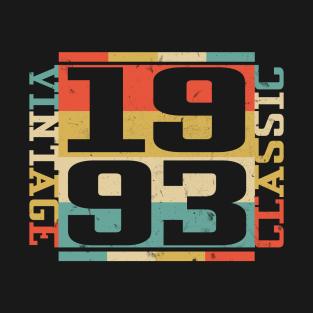 1993 Classic Vintage Birthday Funny Gift Idea t-shirts
