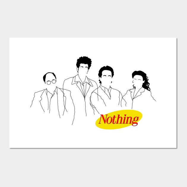 SEINFELD TV Show PHOTO Print POSTER Series Art Jerry Show About Nothing George 4