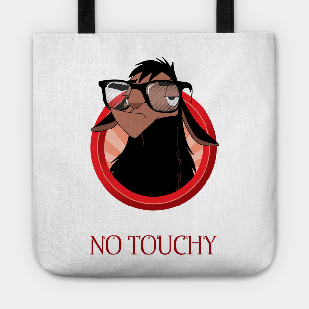 No touch! No touchy!
