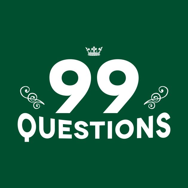 99Q Type Logo (white)