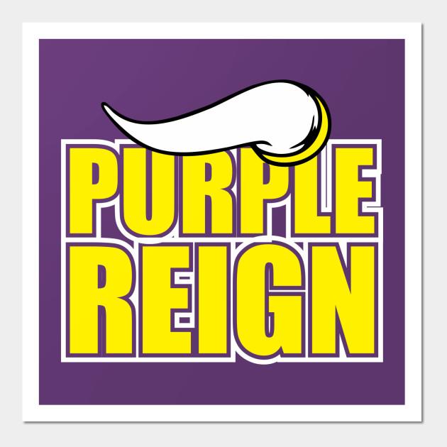 Minnesota Viking Purple Reign