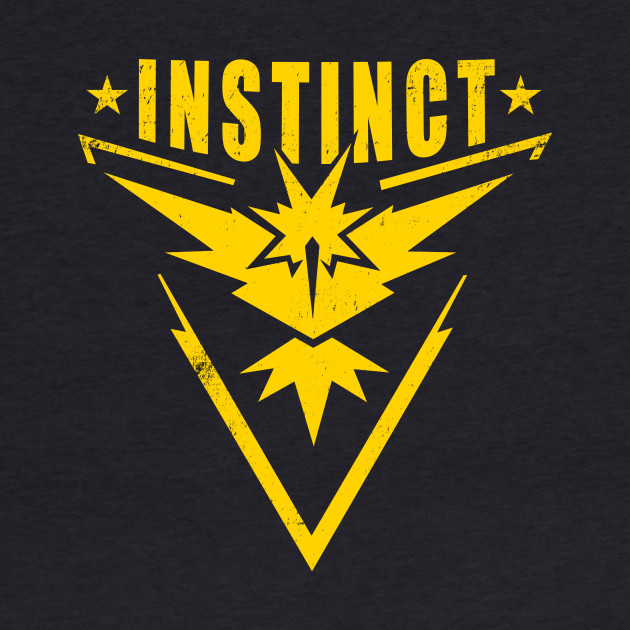 Pokemon GO! Instinct Emblem