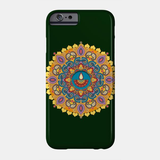 Mandala Diwali Lights Mandala Phone Case Teepublic