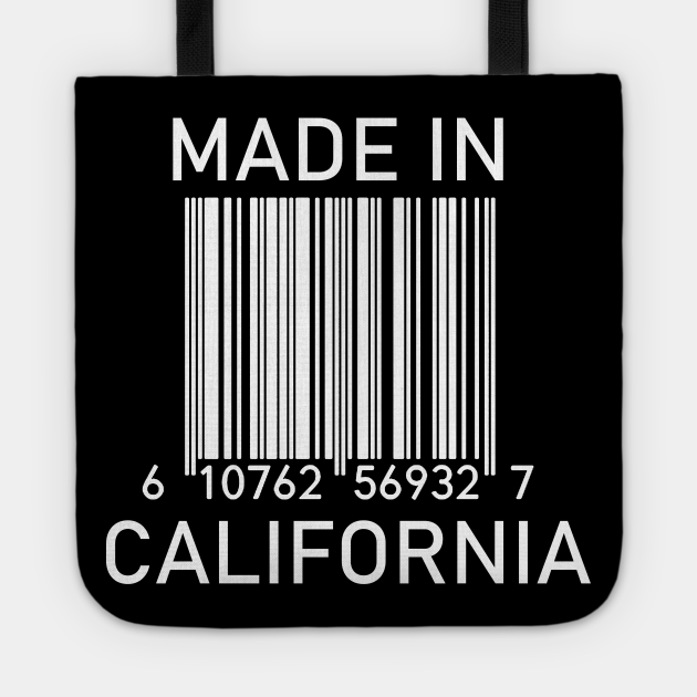 MADE IN CALIFORNIA Barcode