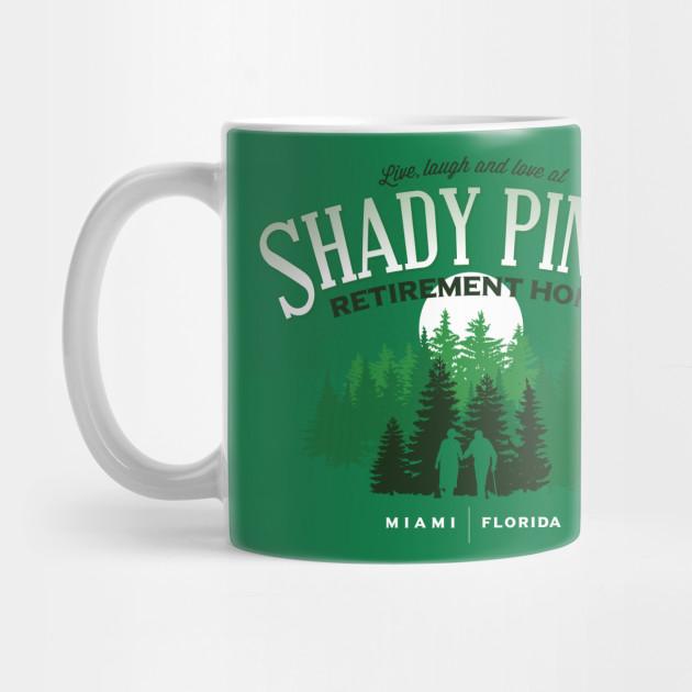 Top Shady Pines Retirement Home - Golden Girls - Mug | TeePublic PC96