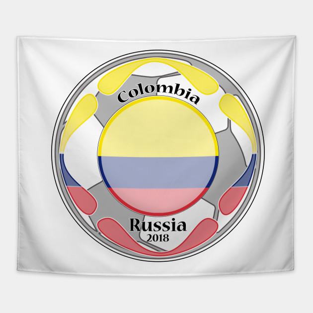 07dafe64458 amazing t-shirt football flag country unisex colombia tee shirt Tapestry