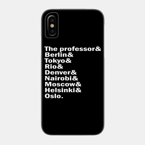 Money Heist Phone Cases - iPhone and Android | TeePublic